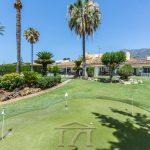 V022 Inmobiliaria Bobis Villa en el Centro Marbella jardin