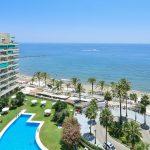 At097 Inmobiliaria Bobis Centro Marbella Atico en primera linea playa vistas