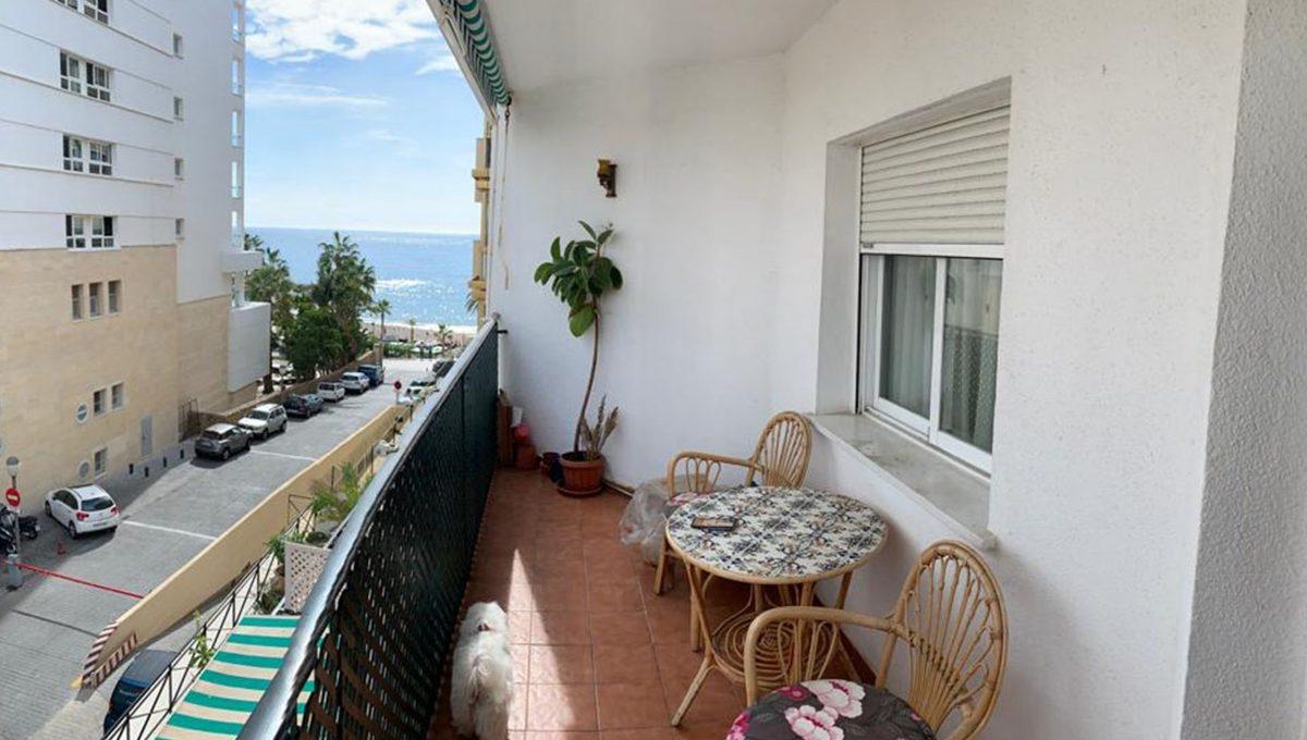 Ap115 Inmobiliaria Bobis Centro Marbella Cerca de la Playa Terraza