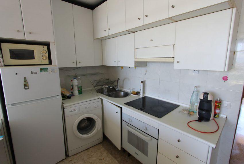 Ap160 Inmobiliaria Bobis Centro Marbella Vistas al mar Cocina