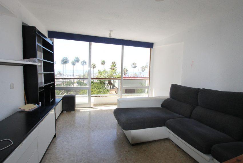 Ap160 Inmobiliaria Bobis Centro Marbella Vistas al mar Salón 1