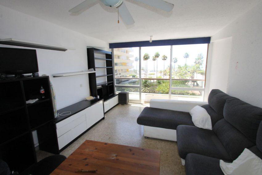Ap160 Inmobiliaria Bobis Centro Marbella Vistas al mar Salón