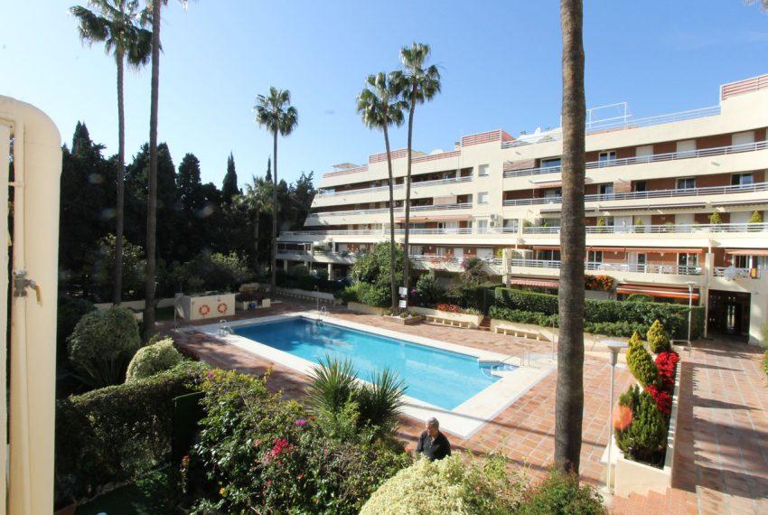 Ap105 Inmobiliaria Bobis Centro Marbella cerca de la playa piscina