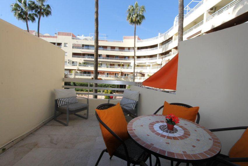 Ap105 Inmobiliaria Bobis Centro Marbella cerca de la playa terraza